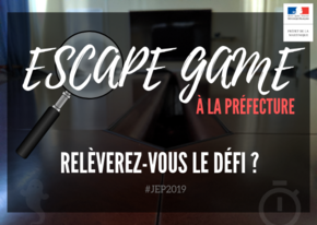 ESCAPE GAME - Visuel