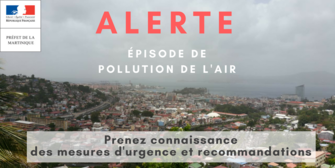 Episode de pollution de l'air  Niveau 2 : Procédure d'alerte activée